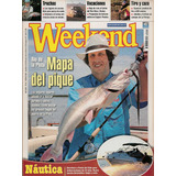 Revista Week End Nº 425 Mapa Del Pique Río De La Plata