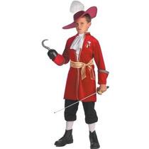 Disfraz Pirata Capitan Garfio Hook Peter Pan Para Niños