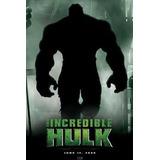 Poster Importado De La Pelicula, El Increible Hulk - 90 X 60