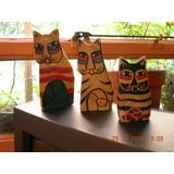 Gatos De Indonesia De La Suerte En 3 Tamaños