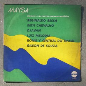 Maysa Presenta A Cantantes Brasileños - Vinilo Lp Nacional