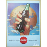 Coca Cola - Poste Propaganda - Publicidades Antiguas