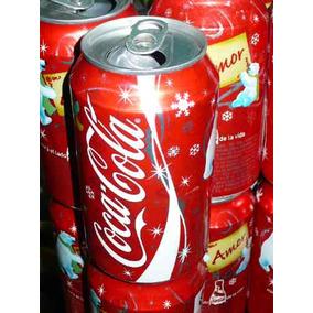 Coca Cola Lata Navidad Modelo Amor Año 2007 Vacia