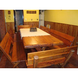 Todo En Quebracho,mesas,silla,bancos,mesas Ratonas