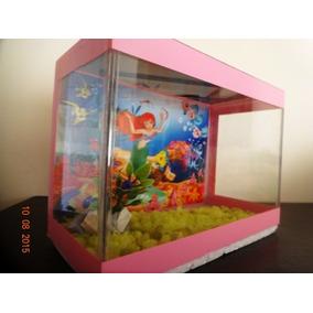Beteira Da Pequena Sereia Rosa 20x10x15 Completa Avulsa