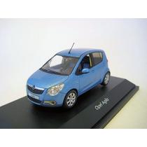 Opel Agila 2008 - Similar Chevrolet Spark - Schuco 1/43