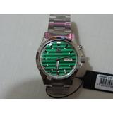 Relógio Orient Automático 469ss042 Mostrador Verde Lindo
