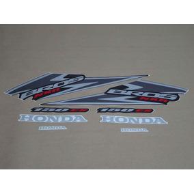 Kit Adesivos Honda Nxr150 Es Bros 2006 Preta 10014