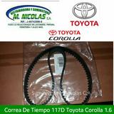 Correa De Tiempo Toyota Corola 1.6 Del 97 Al 02 117d