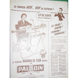 Clipp Publicidad Maquina Tejer Knitting Machine Paladin M1
