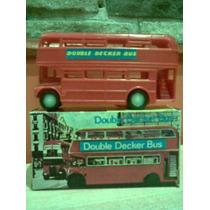 Colectivo Autobus Uk Double Decker Bus Retro Kxz