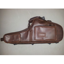 Semi Case (bag) Para Sax Tenor Em Couro Ecológico
