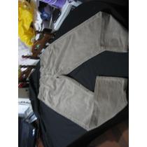 Pantalon Jeans De Cotele Lee Talla W36 L32 Color Cafe Claro