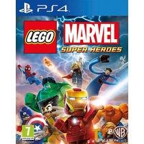 Lego Marvel Super Heroes   Ps4   Nuevo   Envio Gratis