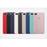 Carcasa Original Iphone 7 Plus Apple Silicone Case Colores