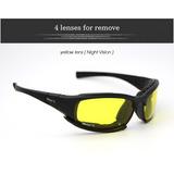 Óculos Daisy X7 Esportivo Pesca Caça Moto Visão Noturna Bike