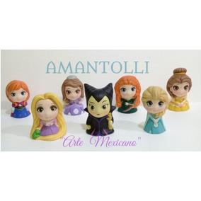 Hermosas Alcancias De Princesas Minis De Cerámica Decoradas.