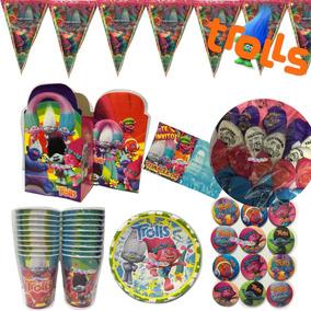 Trolls Artículos Fiesta Paquete 20 Niños Fiesta Infantil