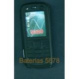 Cover De Silicona Para Nokia 5320 Nuevo! Color Negro!!!