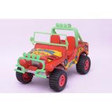 Jeep Camel Rojo N°81 Duravit Caucho Vulcanizado Juguete