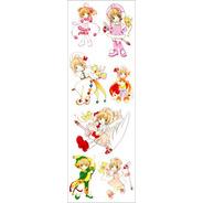 Plancha De Stickers De Anime De Card Captor Sakura Syaoran