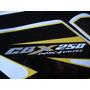 Calcos Para Honda Cbx 250 Twister Kit Completo Moto Amarilla