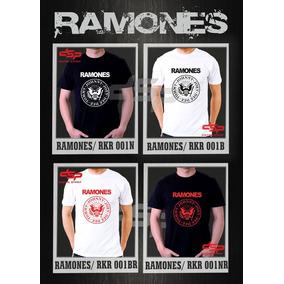 Remeras Ramones Rock Estampado Digital Nuevos Diseños