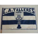 Antigua Bandera De Talleres De Córdoba Campeón 1974