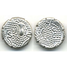 Moneda Medieval De Plata Khushro Ii Rey De Persia
