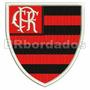 Patch Bordado Trj024 Flamengo 1977 Antigo Escudo Símbolo Tag
