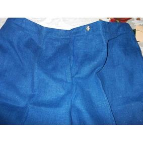 Pantalon,mujer,traje Sastre,azul,harve Benard,talla 14,$990