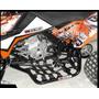 Pisadera 3h C/ Talonera Y Pintura Epoxi -banshee350-mg Bikes