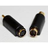 Adaptador Cable Super Video S-video A Rca M/h O H/m 1° Htec