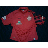 Promoção! Camisa Polo Flamengo Oficial Nike Viagem 2008 2009