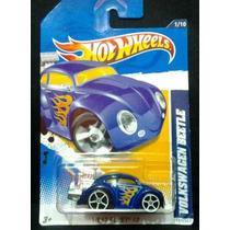 Volkswagen Beetle 1/10 Hot Wheels 2012 Heat Fleet Fusca