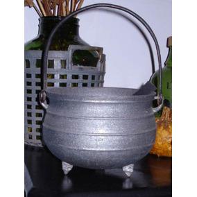 Antigua Olla De Campo.cocina.fundicion.hierro. (1930).-