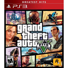 Gta 5 Grand Theft Auto V Juego Ps3 Playstation 3 Stock