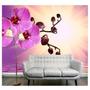 Adesivo Decorativo Flores De Parede Vinilico Orquidea 35