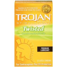 Condones Trojan Twisted Atrevete A Lo Distinto Caja Original