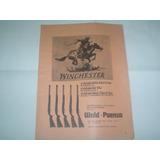 Publicidad 1973 Wald-paenza Winchester Rifle Carabina 250