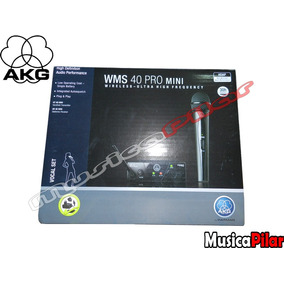 Microfo Vocal Akg Wms40pro 1 Mic Inalambrico. Musicapilar