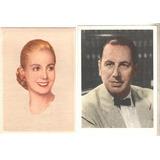 Dos Postales De Peron Y Evita