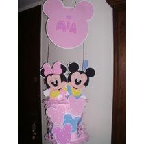Piñata Minnie Y Mickey Bebe Unicas¡¡