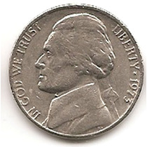 Moneda Estados Unidos De 5 Centavos.five Cents Año1973