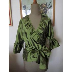 Camisa De Taftan Verde Musgo Small - Fiestas - Casamientos
