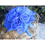 Ramo De Novia Azul Colecciòn Verano- 2013