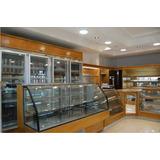Muebles De Panaderia - Exhibidora Cristal Curvo