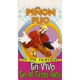 Piñon Fijo Es Mi Nombre En Vivo En El Gran Rex Vhs Nuevo