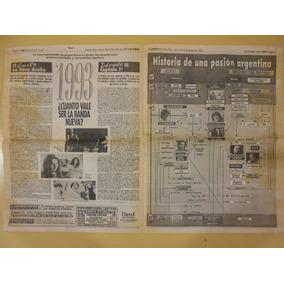 Suplemento Sí De Clarín - Fito Páez - Bandas Nuevas - 1993