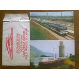 2 Postales El Mundo Del Tren Eurailpass Alemania España